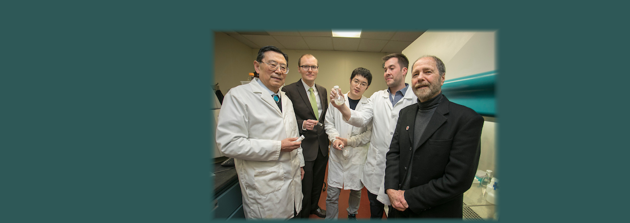 Researchers at Stony Brook University's Institute of Chemical Biology and Drug Discovery