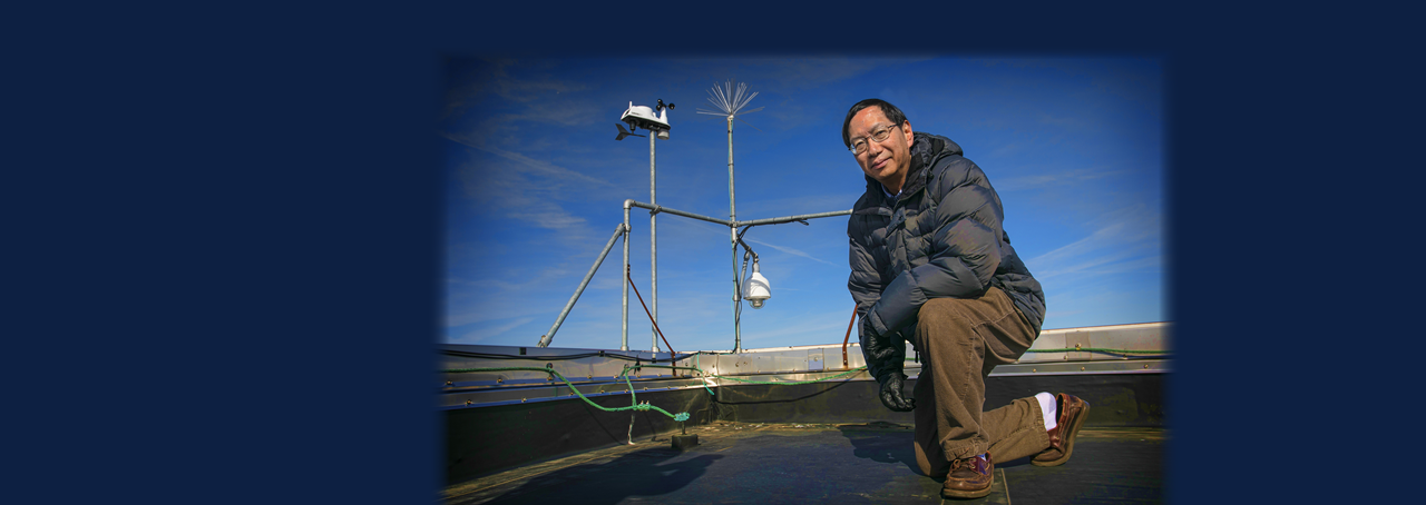Dr. Edmund Chang, professor of atomospheric sciences at Stony Brook University