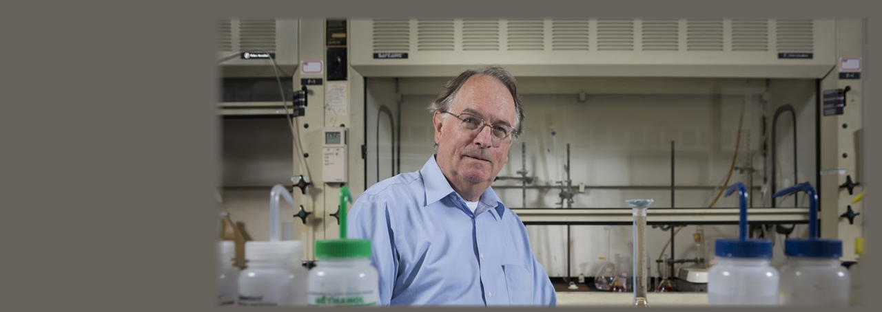 2019 Nobel Prize in Chemistry winner M. Stanley Whittingham, distinguished professor at Binghamton University