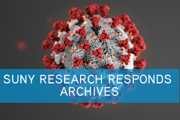 image link to SUNY Research Responds eNews archives