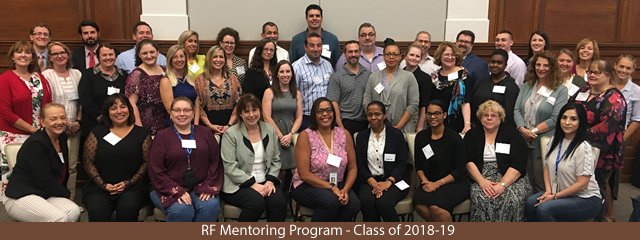 class for the 2018-19 RF Mentoring Program
